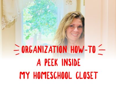 How To Organize Your Homeschool Stuff 1