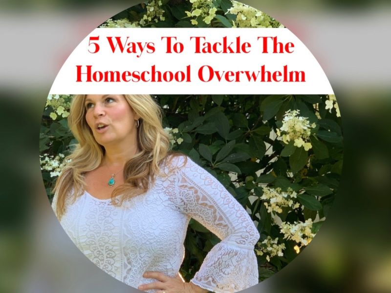 5 Ways to Tackle The Homeschool Overwhelm