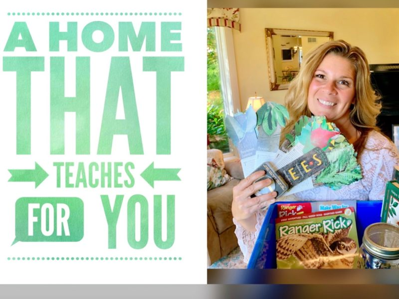 A Home That Teaches For You